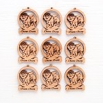 Chow Chow Dog Ornament Minis - Set of 9